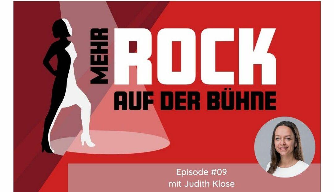 Episode #09: Im Panel brillieren – Tipps von Female Role Model Judith Klose